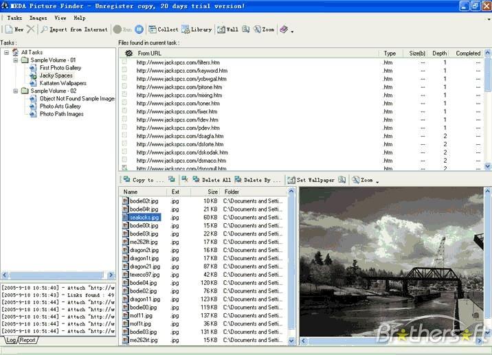 MEDA Picture Finder