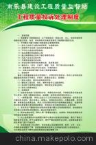 质量技术监督局效能建设相关制度
