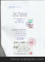 专业职务公证书