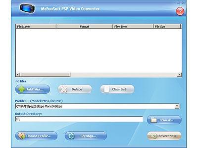 McFunSoft PSP V...