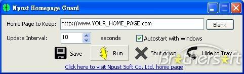 Npust Homepage Guard