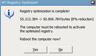 NT Registry Optimizer