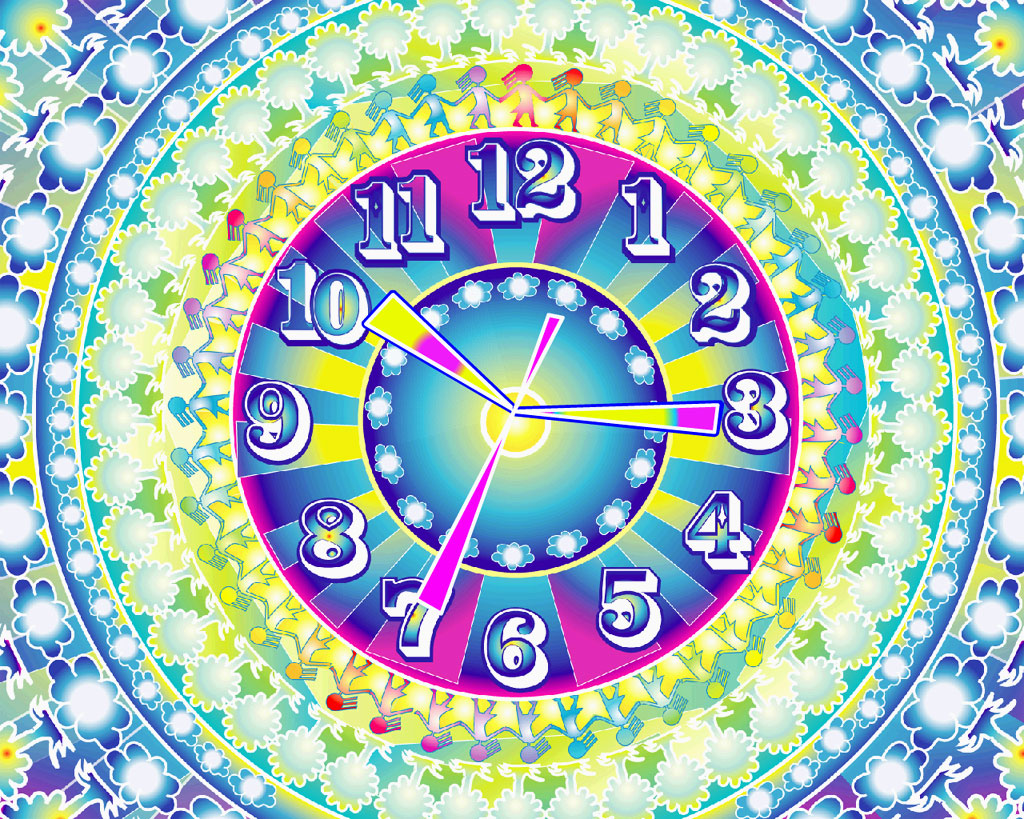 One World Clock ScreenSaver
