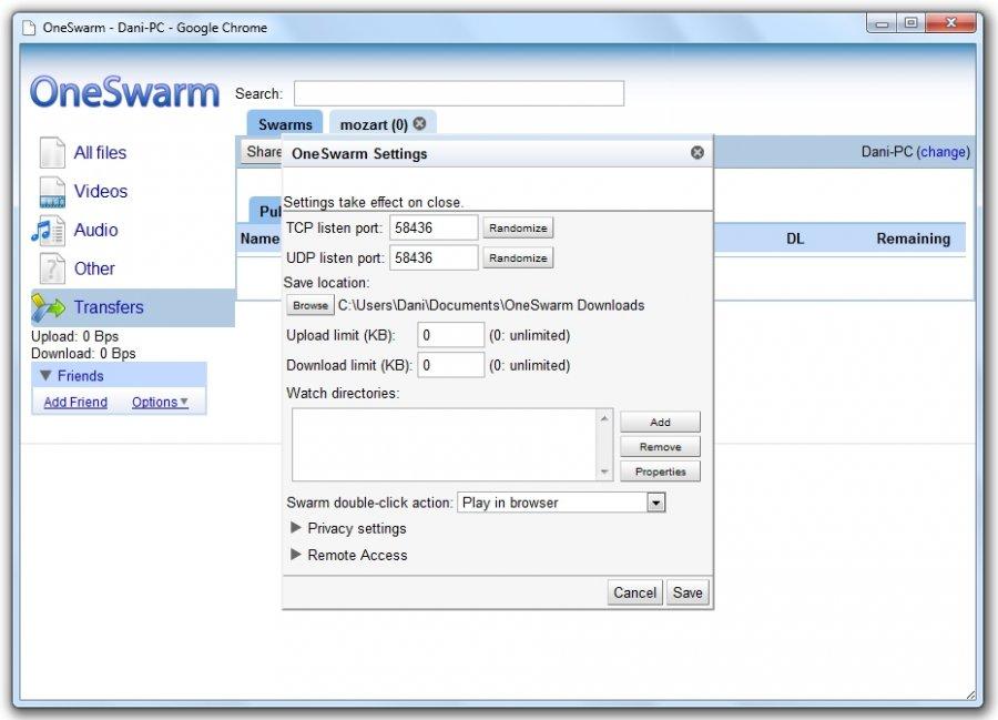 OneSwarm(32 bit)