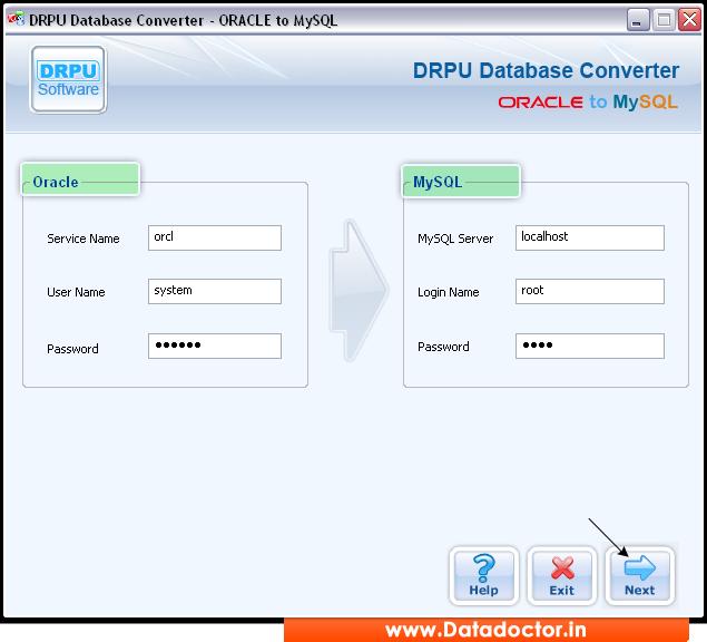 Convert Oracle to Mysql