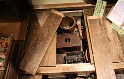 储藏室寻找物品