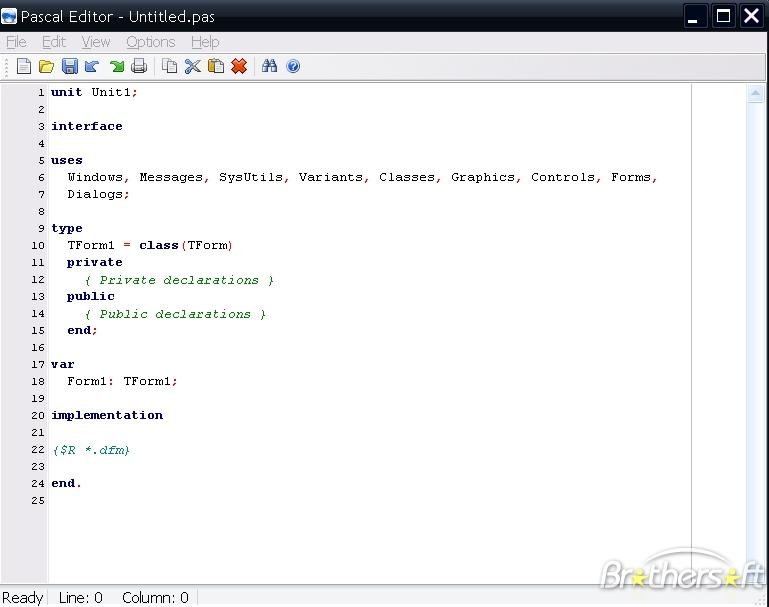 Pascal Editor
