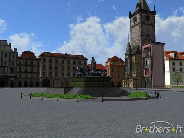 Prague Old Town Square 3D