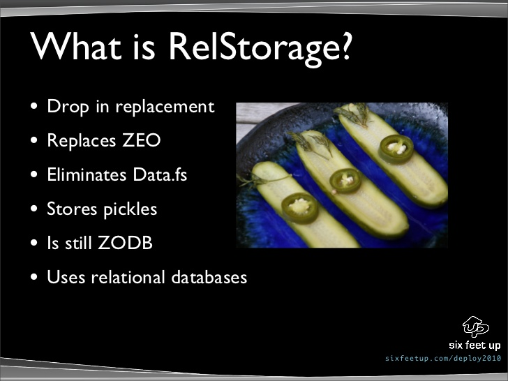RelStorage