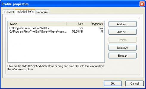 Rapid File Defragmentor