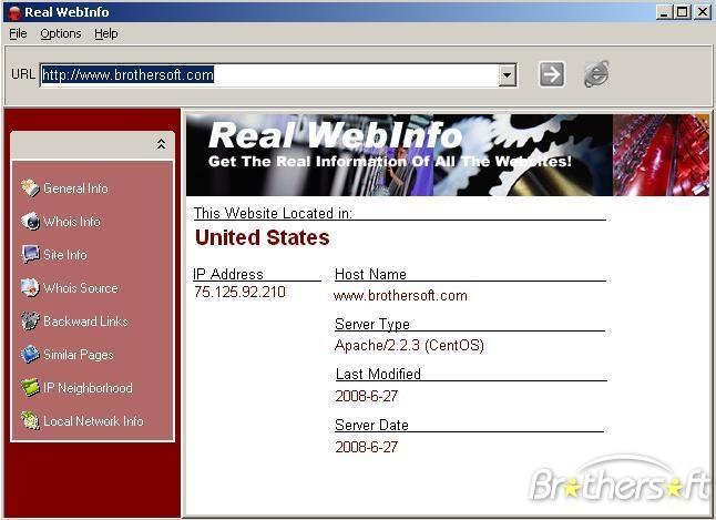 Real WebInfo