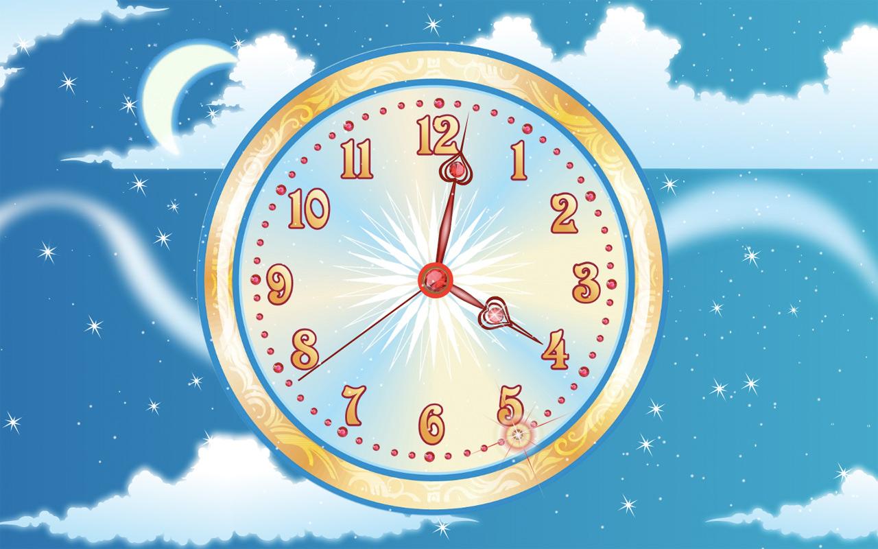 Sky Flight Clock ScreenSaver