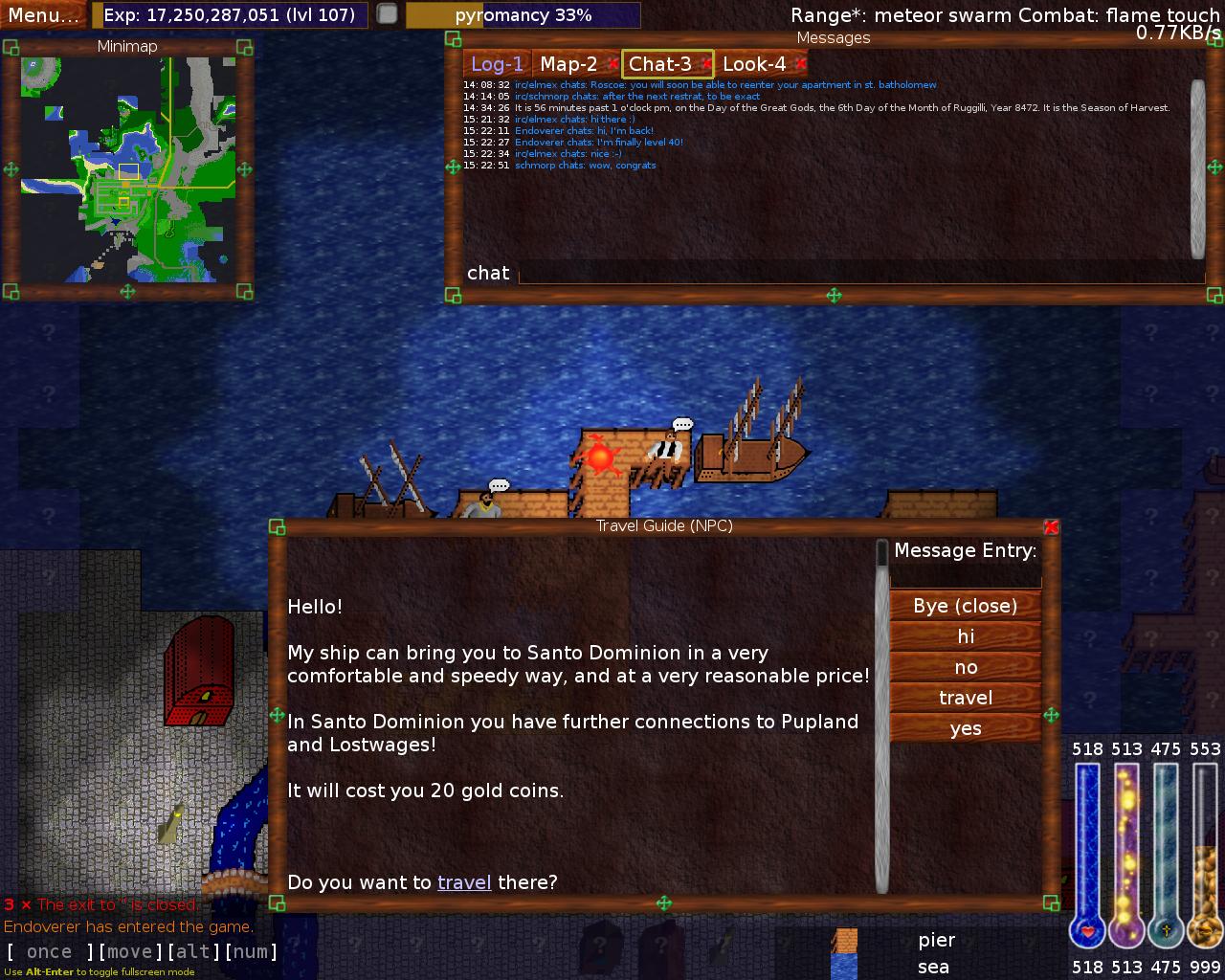 Deliantra MMORPG Client
