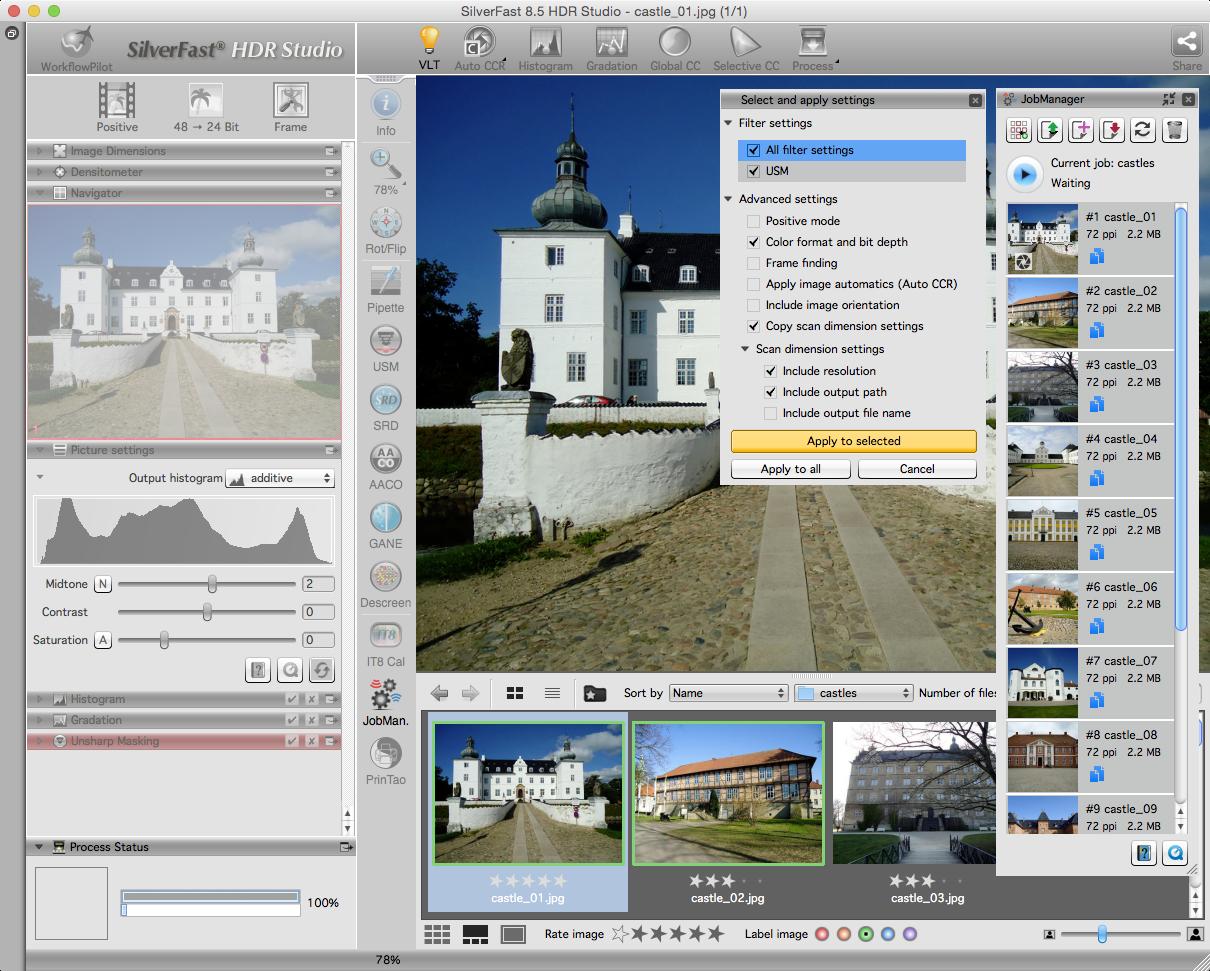 SilverFast HDR Studio 8.0.1r30