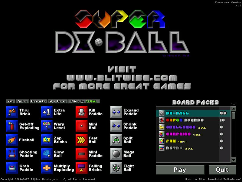 Super DX-Ball 1.1