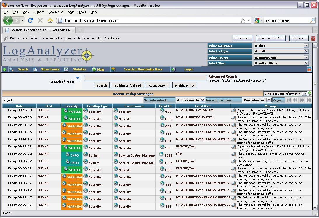 LogAnalyzer 3.6.1