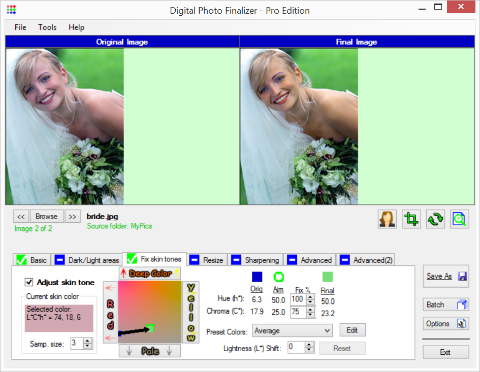 Digital Photo Finalizer 2.50