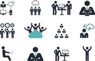 矢量商务图标