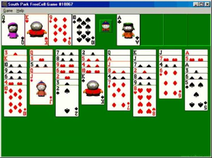 South Park FreeCell Game