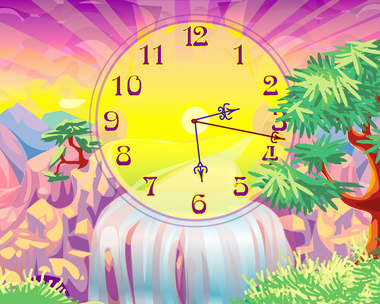 Oasis Clock ScreenSaver