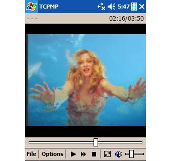 The Core Pocket Media Player (TCPMP) 0.72