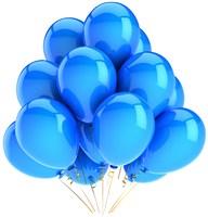 S60v3主题 蓝色氢气球