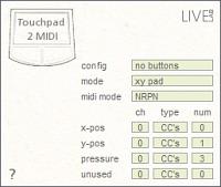 LiveLab Touchpad