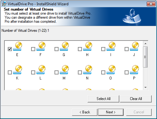VirtualDrive 11.5