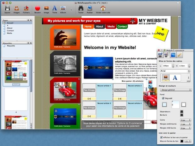 WebAcappella For Mac 4.3.42
