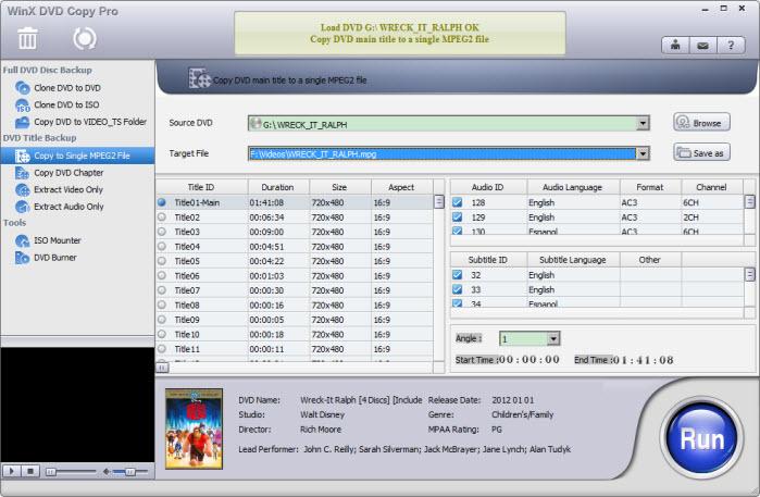 WinX DVD Copy 6.6.14