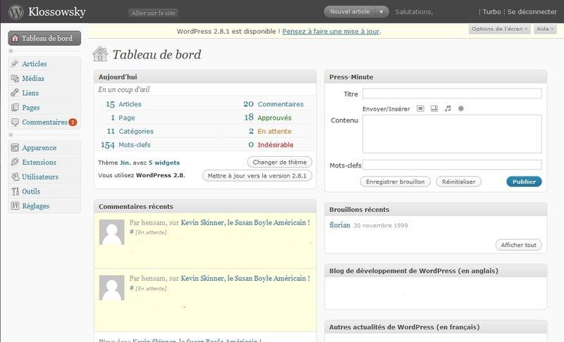 WordPress for Linux