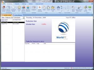 WorldPT Schedule XP