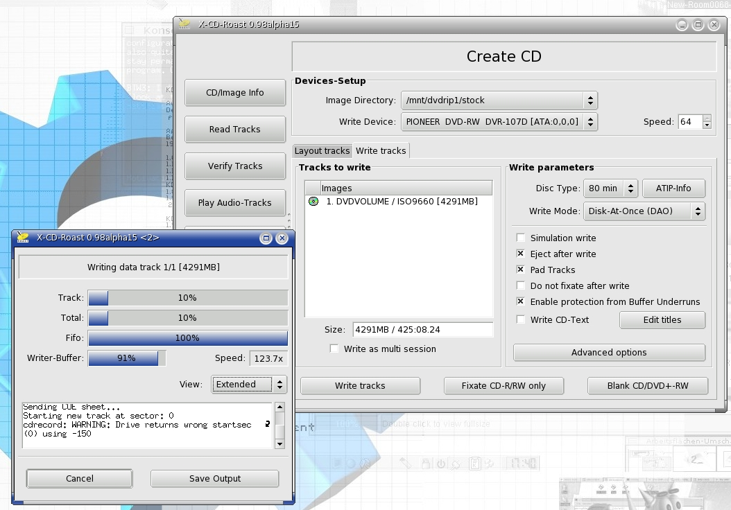 cdrtools 3.01 Alpha 31