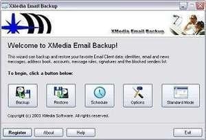 XMedia Email Backup