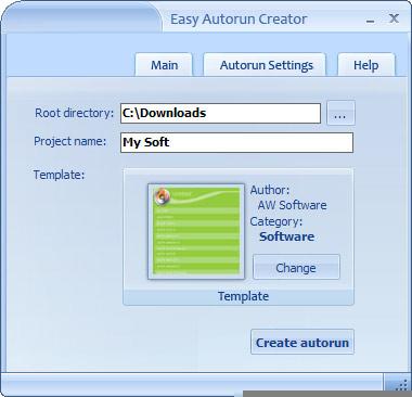 Easy Autorun Creator
