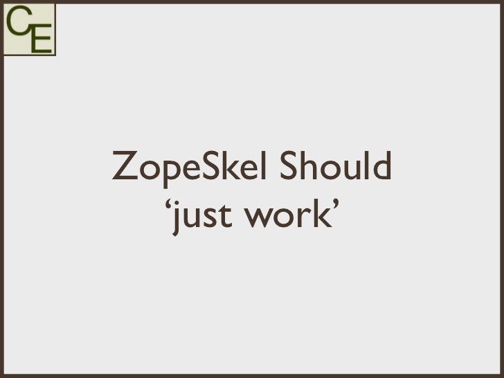 ZopeSkel