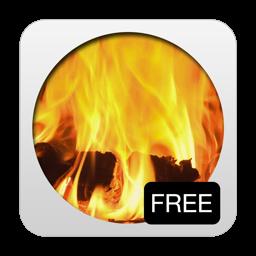3D Cozy Fireplace Screen Saver
