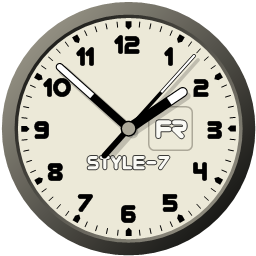 GreetSoft Attractive Clock