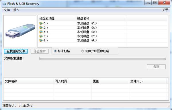 闪存/USB数据恢复软件(Flash