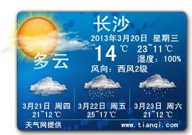 天气网天气预报