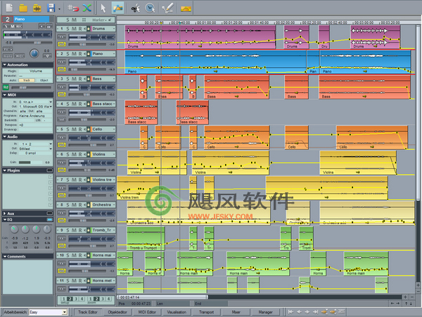 Magix Samplitude多轨音频