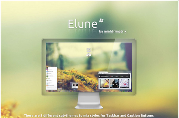 Windows7主题《Elune》