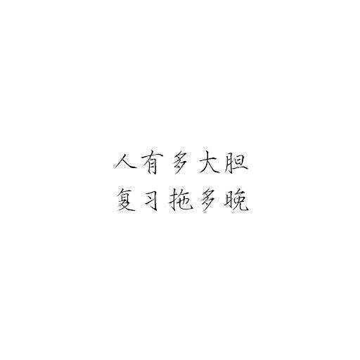 瘦金体字体