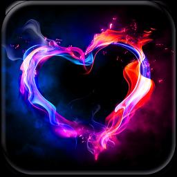 Hearts in Love Screen Saver