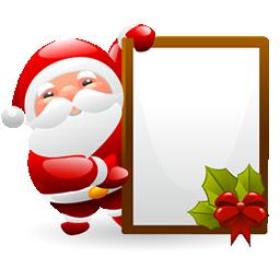 圣诞老人的幸福...