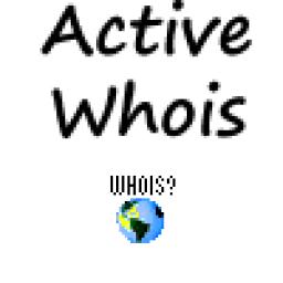 Active Whois