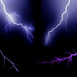Lightning Screensaver
