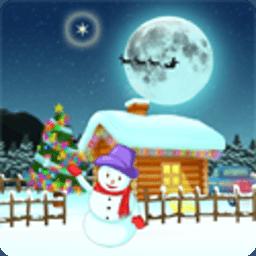 圣诞节精灵动画屏保