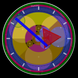Pifagor Clock ScreenSaver