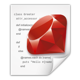 Ruby Icons